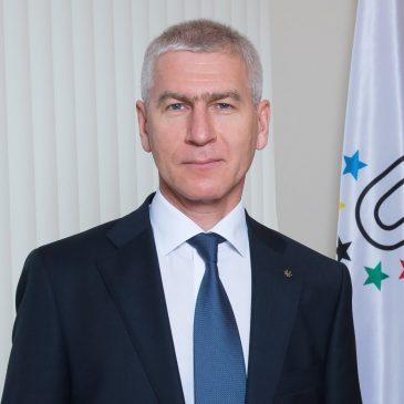 Le mot de bienvenue du président de la FISU, Oleg Matytsin
